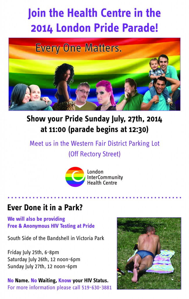 Pride Information Details